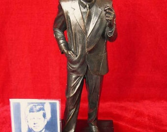 JFK J.F.K. John Fitzgerald Kennedy Limited Edition Figurine By Legends Forever Homage Figure Statue Only 1000 Made 35th President of U.S.A