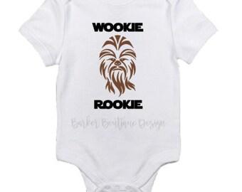 Wookie Rookie Baby Bodysuit  - Star Wars