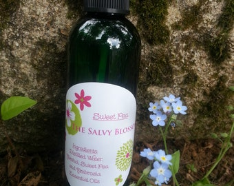Sweet Pea Body Spray, Organic Sweet Pea Essential Oil,  Fragrance, Perfume, Room and Linen Spray