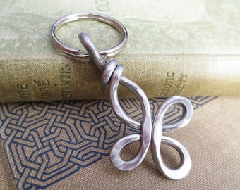 Celtic Cross Key Chain, Light Weight Aluminum Cross Keychain, Christmas Gift Unisex Key Ring, Accessories Cross Key Fob, Key Holder Unisex
