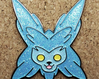 Crystal Critter Soft Enamel Pin