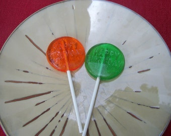 20 Round Happy Birthday Lollipops Suckers Party Favors Candy