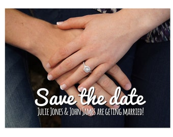 Save The Date Photoshop Template 006