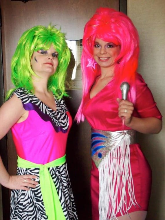 Like this item?  sc 1 st  Etsy & Plus Sized Jem and the Holograms Costume