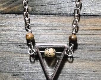 Camo Stone Earth Alchemy Necklace