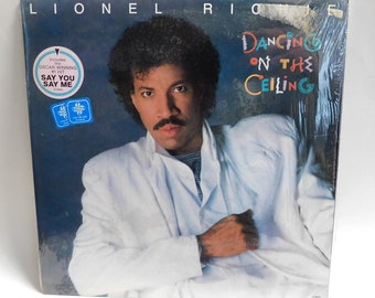 Lionel Richie Dancing on the Ceiling - Vintage Vinyl Record Album 1985 Motown 6158 ML NM/EXC Shrink/Hype