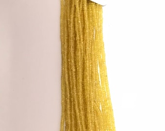 """yellow sapphire Faceted Rondelle Beads, sapphire  Beads, Precious Beads, yellow sapphire Beads, Precious Rondelle 16""""strand AAA quality"""