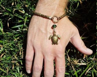 Dangling Sea Turtle Bracelet