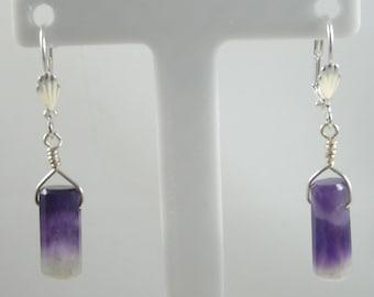 Cape Amethyst Earrings