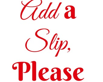 Add a Strapless Slip to your Tutu Dress