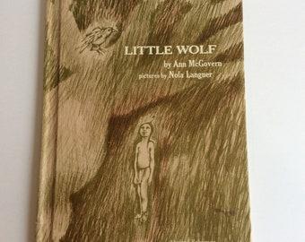 Vintage Children's Book, Little Wolf