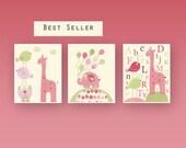Baby girl art, Nursery wa...