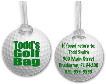 Personalized and Custom Embroidered Golf Bags