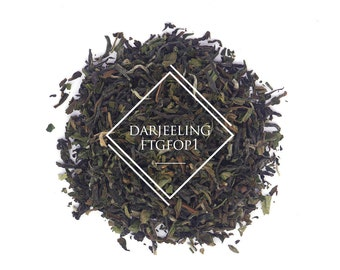 Darjeeling Second Flush FTGFOP1, Loose Leaf Tea, Black Tea
