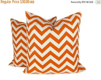 15% Off Sale Decorative Pillows Orange Pillow - Orange Throw Pillow - Orange pillow covers  accent pillowThrow Pillows - Orange pillow