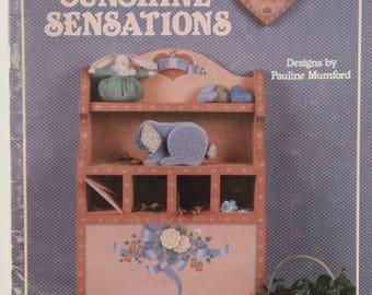 Sunshine Sensations - Vintage Tole painting book