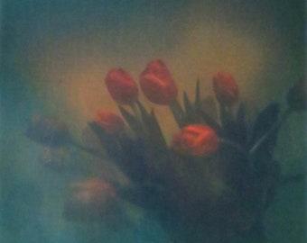 """Still Life I (Tulips) print - 12""""x12"""" - 20""""x20"""" - 24""""x24"""""""