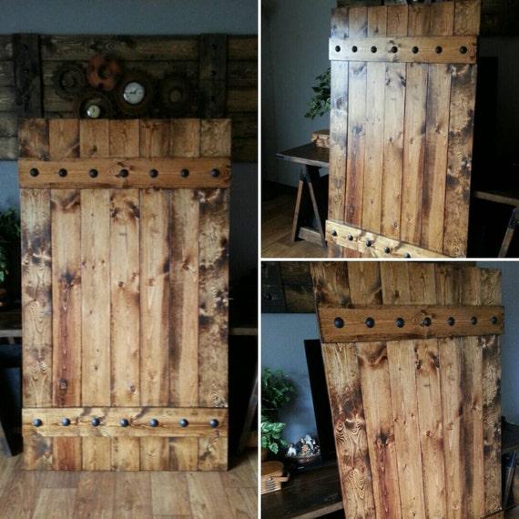 Rustic Barn Door Shutter Extra Large Shutter Slider
