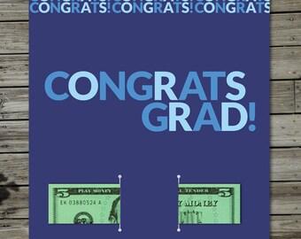 Bold Congrats Grad Card