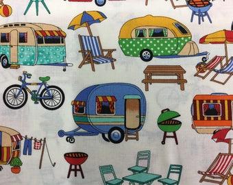 Fabric - Caravans Glamping