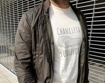 Chancleta Survivor - éllo Tee