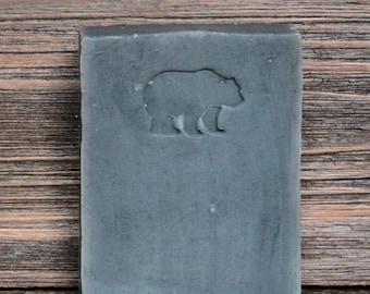 Organic Mountain Huckleberry Bear Soap