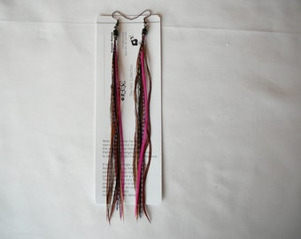 Elegant   Tassel  Feather Earings ....... By TheMyCollection2