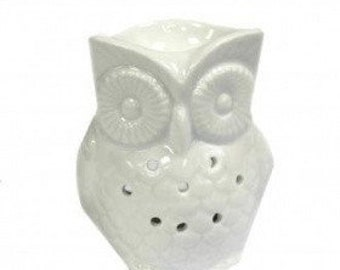 Classic White Fragrance lamp-Big Owl