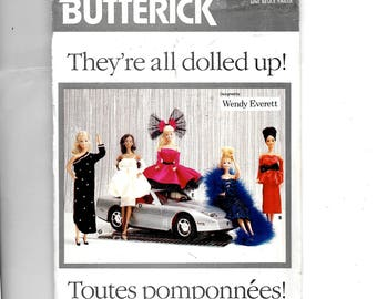 Butterick Fashion Doll Clothes Pattern 5925
