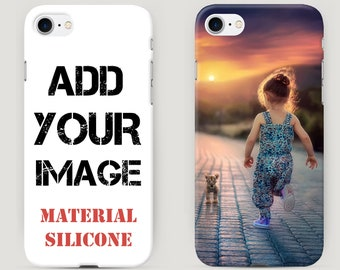 Original iPhone Case - Make your Phone Case - Custom Case with Your Photo, Quote, Text - Personalized iPhone Case