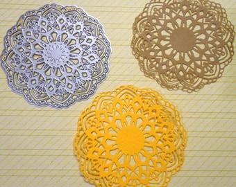 3 inch Lace Doily/ Boho Mandala Die