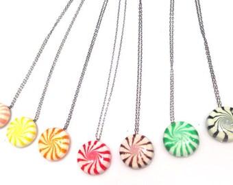 Glitter Starlight Mint Necklace : Candy Necklace