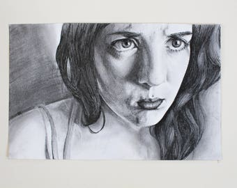"Original Drawing ""Upset"""