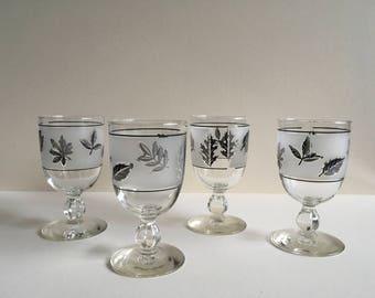 Vintage Wine Glasses, Libby Glass.