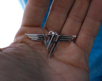 Van Halen silver pendant