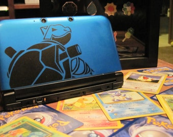 Blastoise 3DS XL Decal