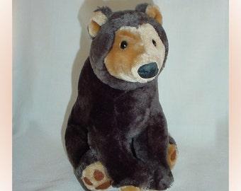 Sun Bear Plush Stuffed Animal 1990s
