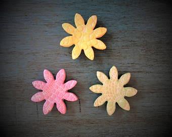 Ceramic Flower Magnet