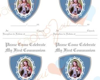 Boys First Communion Party Prnitables PDF