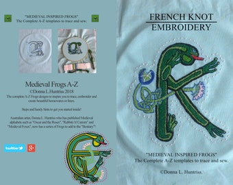 Pre - Order Complete A-Z Celtic Frogs book 2018