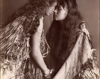 Poster, Many Sizes Available; Maori Women, New Zealand C1900