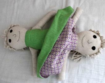 Lavinia Topsy Turvy Rag Doll