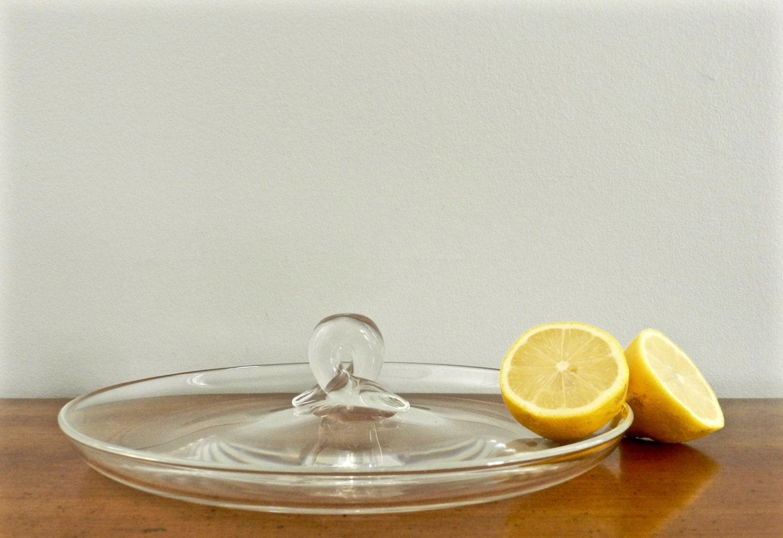 Vintage steuben glass serving tray lloyd atkins design snail zoom reviewsmspy