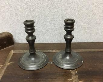 Miniature candlestick holders