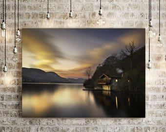 Lake District Prints Lake District Photography,Lake District Landscape,Boathouse Photography,Duke of Portland -Sells UK/USA and Australia