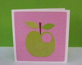 Apple Greetings Card