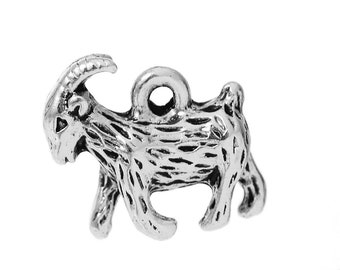 Goat Charm -- Clip On -- Ready to Wear