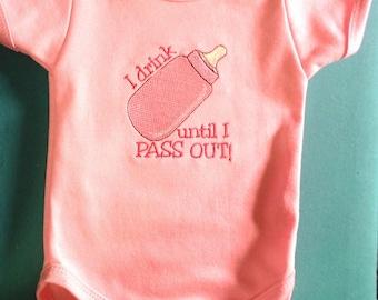 Babies pink  onesie