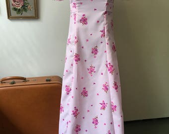 1970s Blossoms Dress