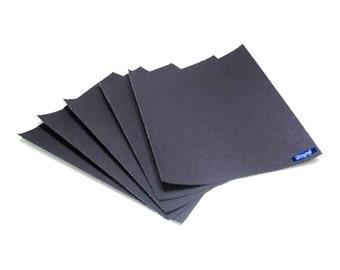 """5 Pcs 9"""" X 13-3/4"""" Emery Paper,  Paper 500 Grit Jewelry Finish Metals Wa 100-006-5-5"""
